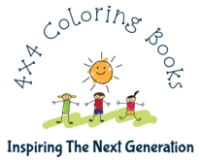 4×4 Coloring Books